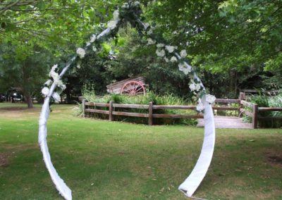 Wrought iron garden Arch (2)
